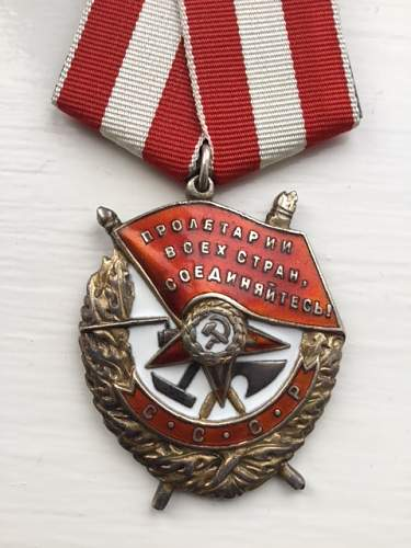 Wartime Order of the Red Banner