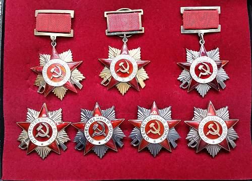 Some Patriotic War Orders.