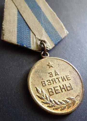 Capture of Vienna medal good?