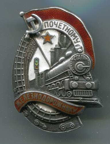 Honored Railroad Worker