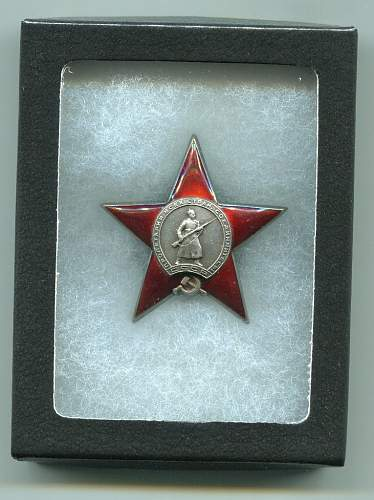 Click image for larger version.  Name:Order of the Red Star, Nr. 12107.jpg Views:125 Size:186.7 KB ID:125485