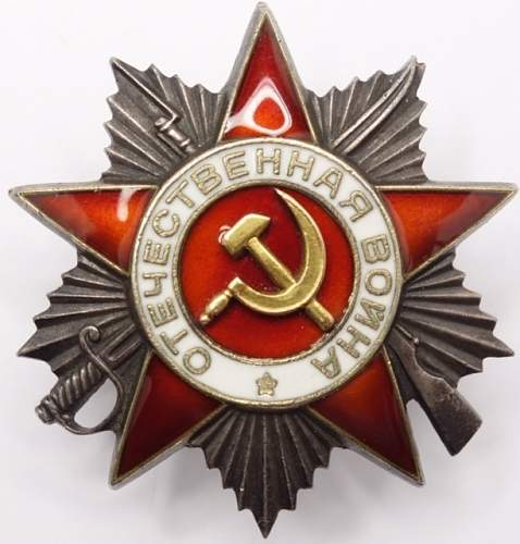 Order of the Great Patriotic War 2nd Class