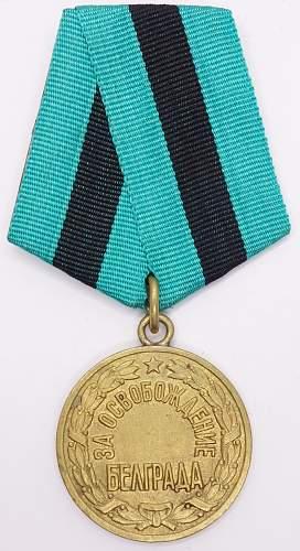 Liberation of Belgrade 1st variant