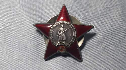 Order of the Red Star ?