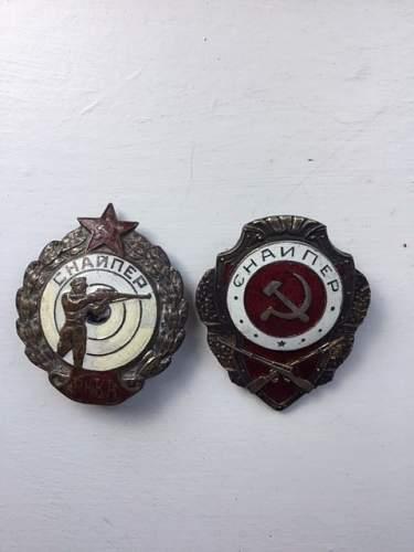 Sniper Badges