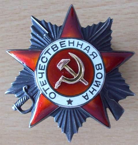 Some of my Soviet awards
