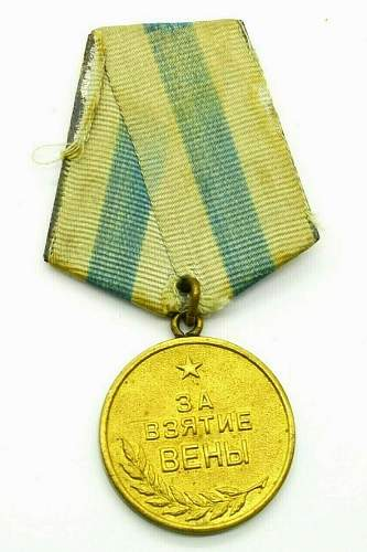 Need help fake or legit medal for the capture of vienna