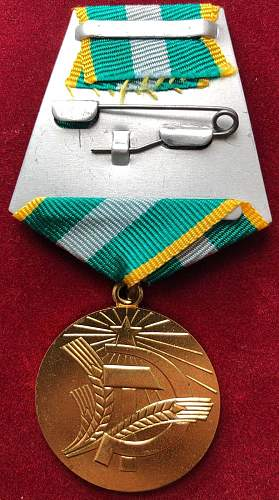 For Transforming the Non-Black Earth of the RSFSR Medal