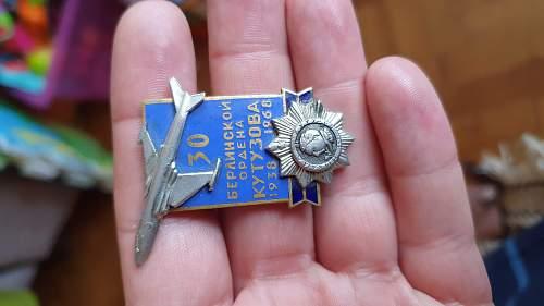 Strange Soviet badge