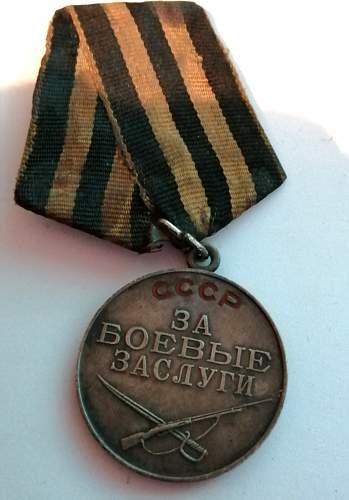 Soviet WW2 medal