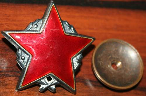 To identify one USSR order (medal) !?
