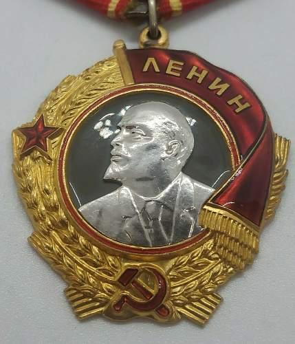 Order of Lenin 1948 Issue