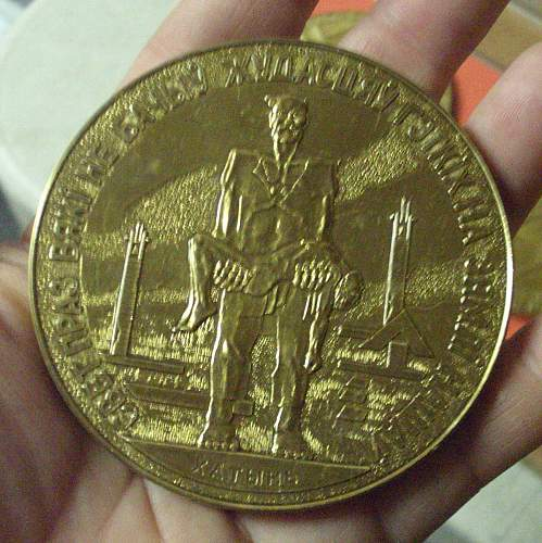 Russian/Polish Medal Set of 5 1941-1944. Anyone read Russian?!?