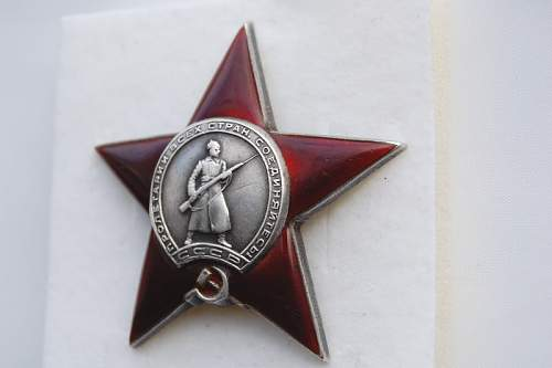 WW2 URSS Medals and Red Star