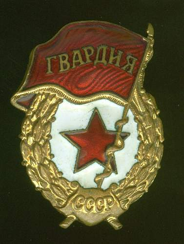 Click image for larger version.  Name:Guard's Badge, 1960.jpg Views:165 Size:160.6 KB ID:27230