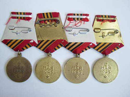 The Capture of Berlin Medal