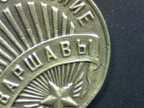 My First New Soviet Medals