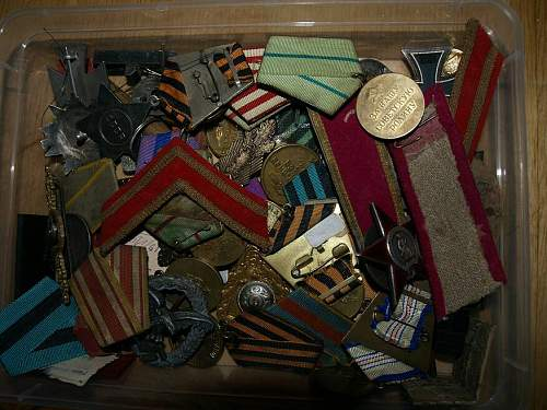 Box with some awards