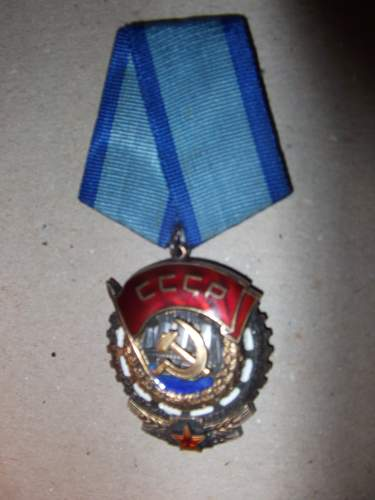 Can you help me identify this Soviet Medal?