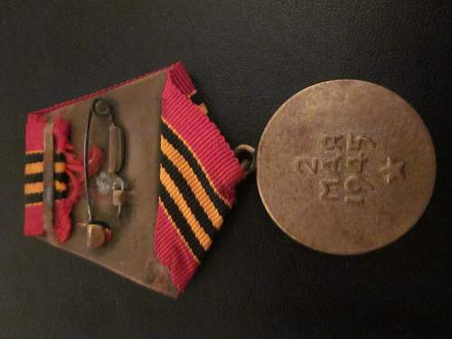 'Defense of Moscow' & 'Capture of Berlin' Medals and Booklets