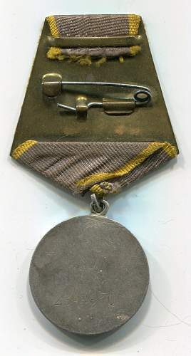 Combat Service Medal to a Specialist Aircraft Electrician, #2343910