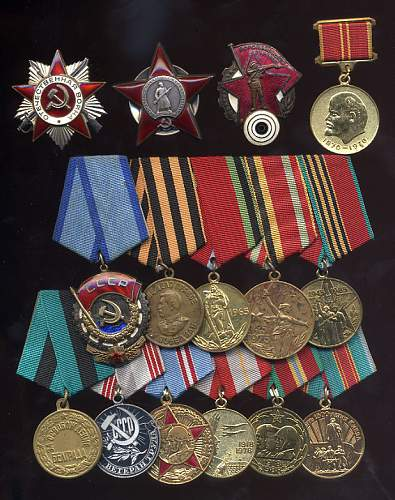 Osoaviakhim Voroshilov marksmans badge