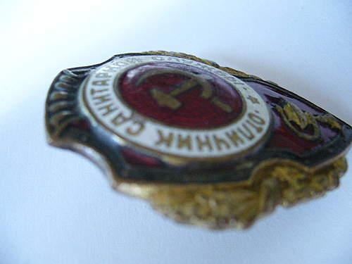 Excellent Medical Corpsman Badge