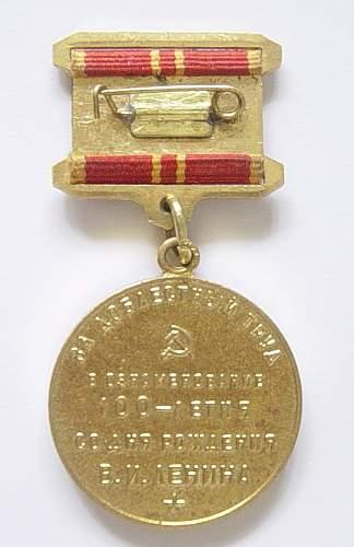 Click image for larger version.  Name:Lenin medal 002.jpg Views:177 Size:87.4 KB ID:39124