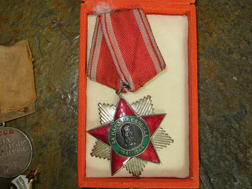 USSR medals to ID