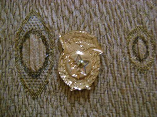 Soviet guards badge