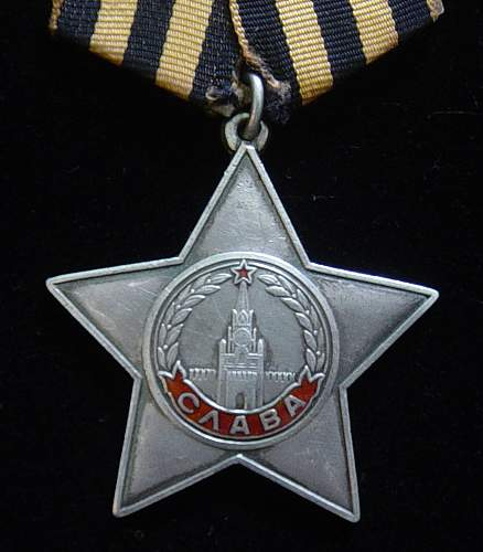 Click image for larger version.  Name:Order of Glory Third class 001.jpg Views:154 Size:134.5 KB ID:42118