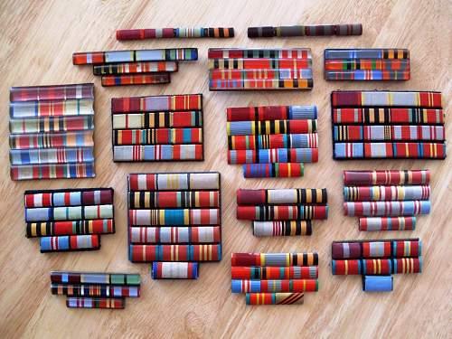 Does anybody collecting Soviet ribbon bars