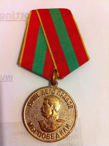 Any ideas on this soviet medal