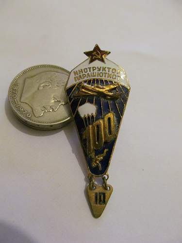 Help identifying Soviet badges and possible values.