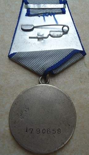 Some medals fo review