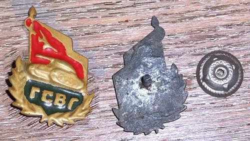 "Guards badge ""Handmade"""