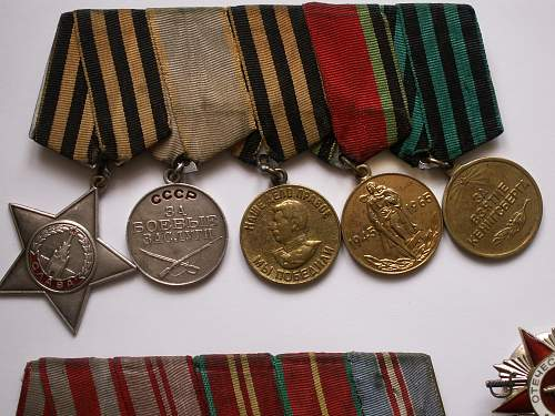USSR Medals and Orders Group/lot