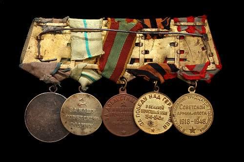 WW2 Soviet Medals
