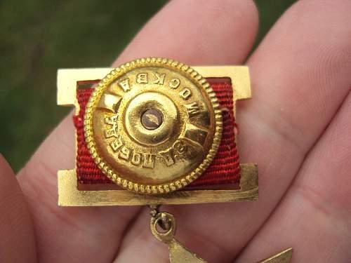Hero of the Soviet Union Gold Star Medal?