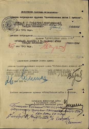 Guards Junior Lieutenant of the Medical Service Aleksei Alekseyevich Novikov