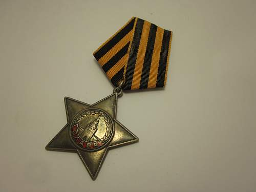 Order of Glory 3rd Class #141744