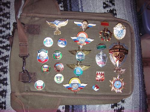 newer group of russian medals