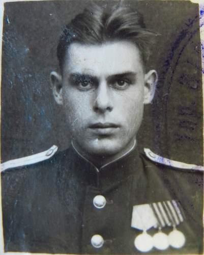Click image for larger version.  Name:Guards Lieutenant of the Medical Service Aleksei Kirillovich Stepanenko 2.jpg Views:68 Size:167.7 KB ID:525758