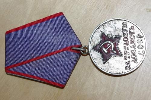 Soviets Medals & NKVD Badge