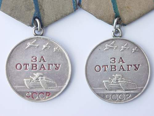 Click image for larger version.  Name:Kirill Ivanovich Il'jashenko Bravery Medals.jpg Views:64 Size:214.1 KB ID:543258
