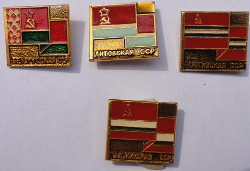 Yet more unknown USSR badges