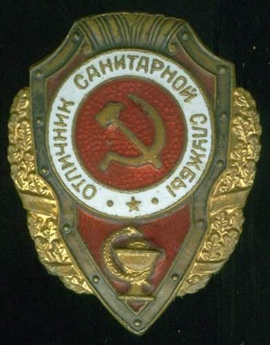 Click image for larger version.  Name:Bugaenko Excellent Medic's Badge.jpg Views:88 Size:126.3 KB ID:556718
