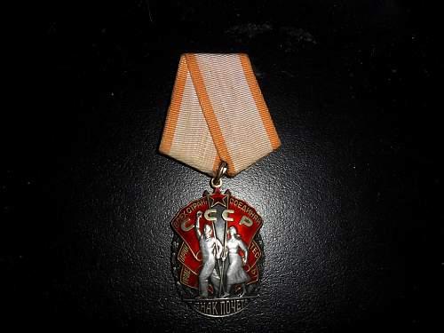 Order of Badge of Honour