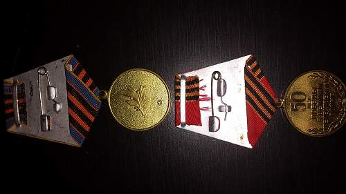 Grouping of soviet's medals