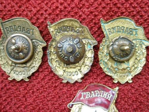 What is This? WW2 Gavardiya Badges